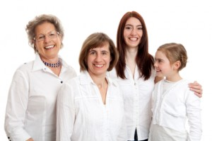 retirement security image multi generation in white