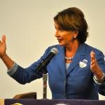 House Demoratic Leader Nancy Pelosi.